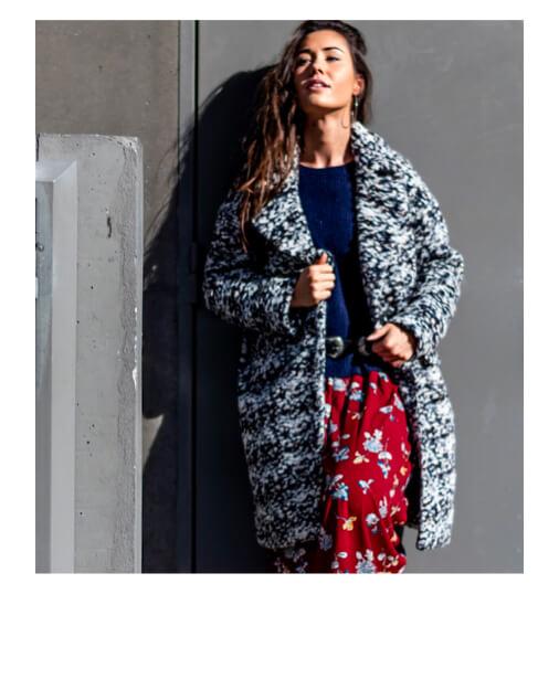 manteau chic femme