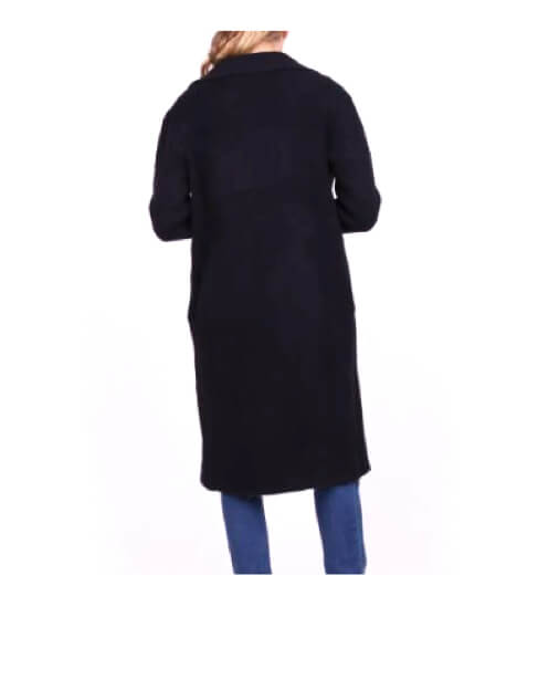 manteau tendance maille