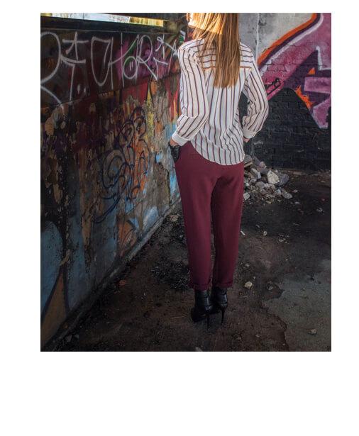 pantalons casual couleur brooklyn