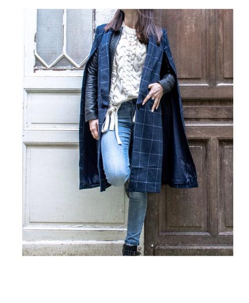 manteau tendance cape