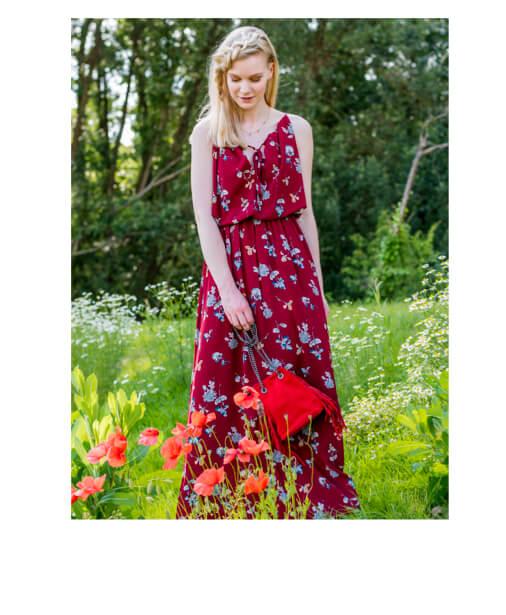 robe longue boheme chic
