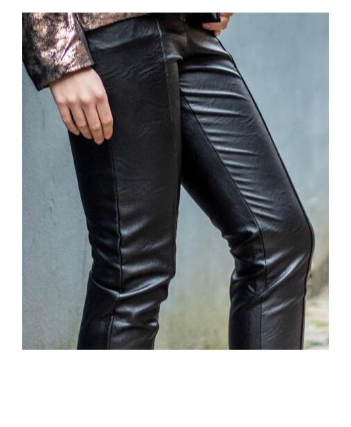 pantalon simil cuir