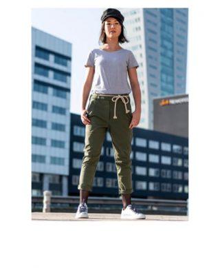 achat pantalon chino kaki look casual
