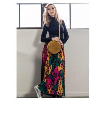 jupe longue fluide pas cher