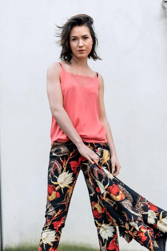 pantalon droit tailleur femme