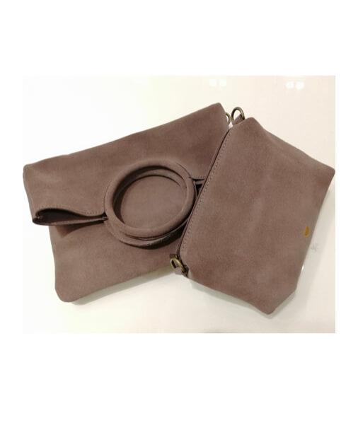 sac bandoulière cuir avec anneau