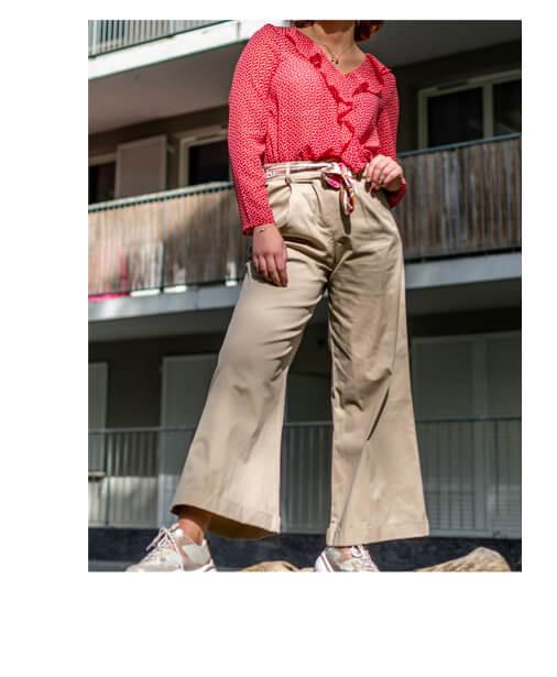 pantalon palazzo taille haute en ligne