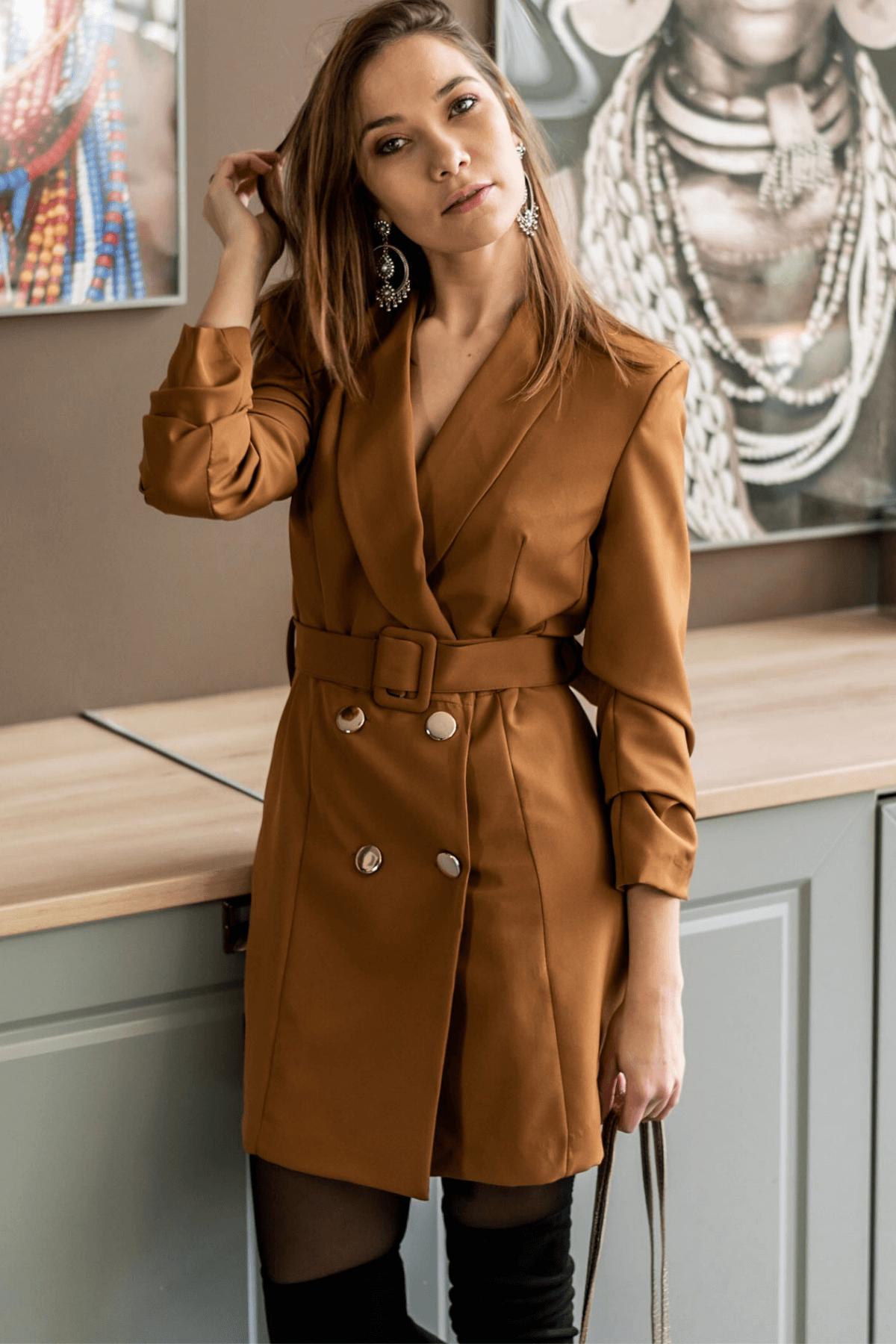 tendance robe blazer