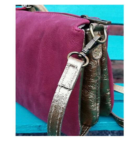sac besace cuir souple italien