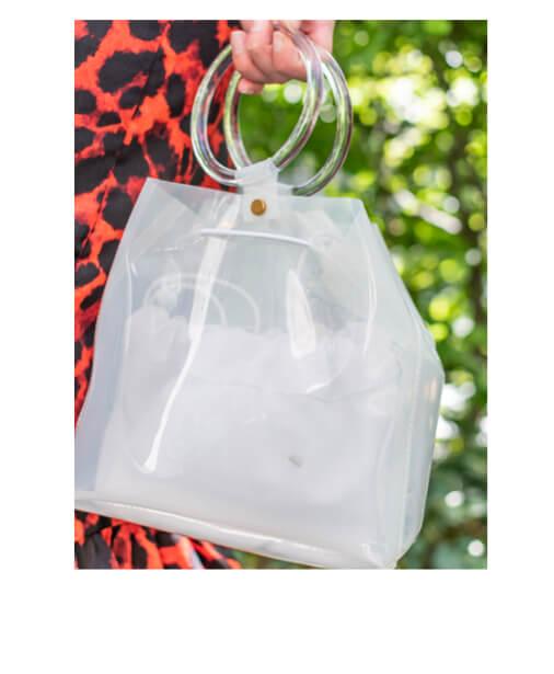 sac cabas transparent