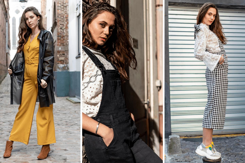 selection tendance combinaison pantalon, blog mode, laisse les parler