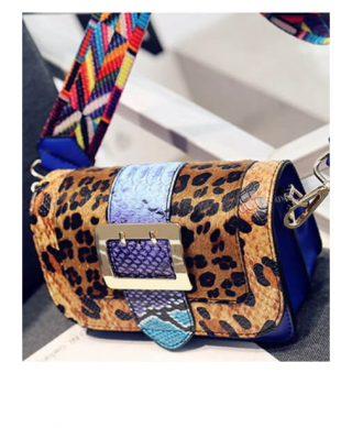acheter sac bandouliere leopard, laisse les parler