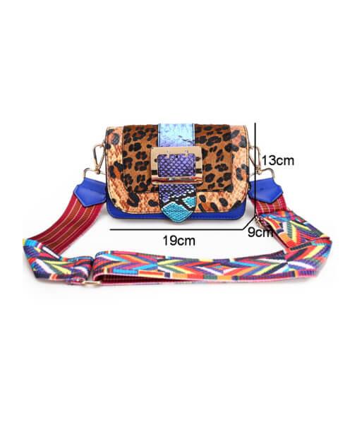 dimensions sac imprimé léopard