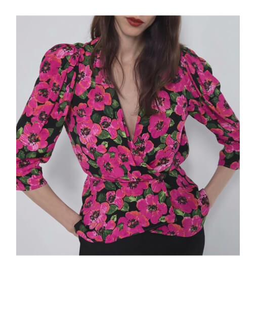 achat blouse imprimee