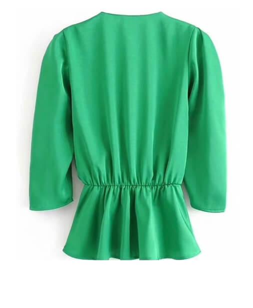 blouse dos