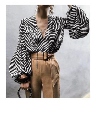 blouse imprime