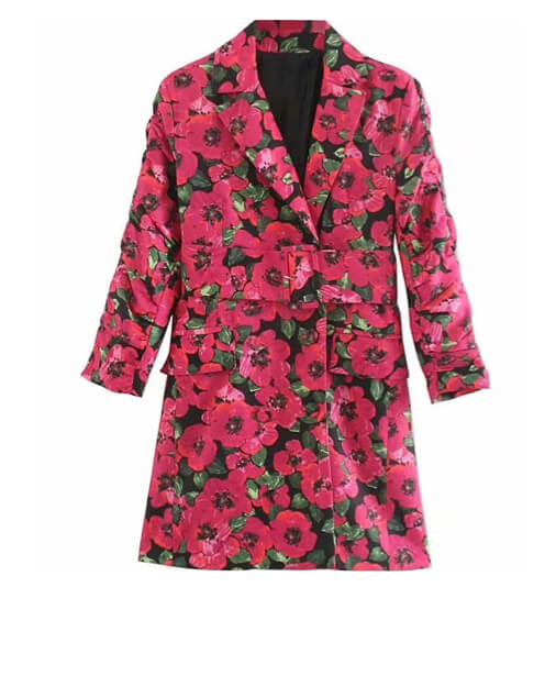 robe veste