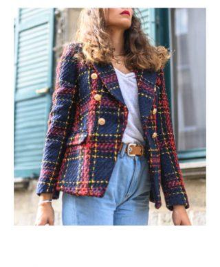 veste croisée tendance