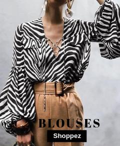 blouse zebre