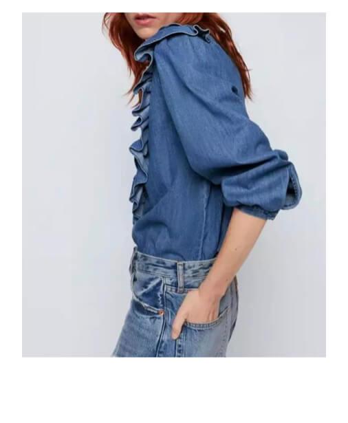 chemise-en-jean-manches