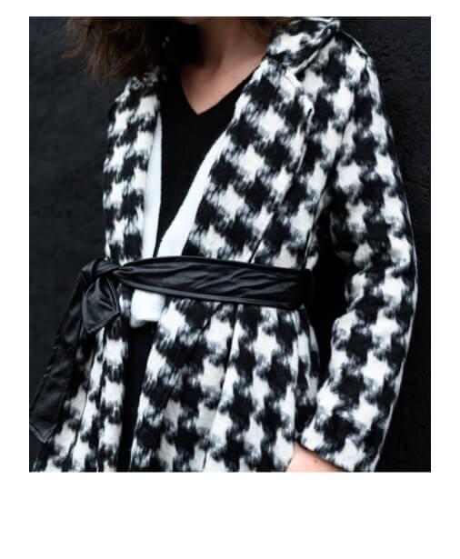 manteau forme peignoir