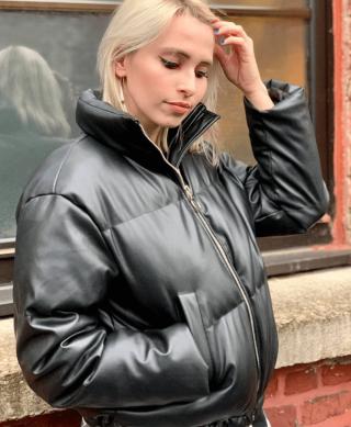 doudoune courte noire
