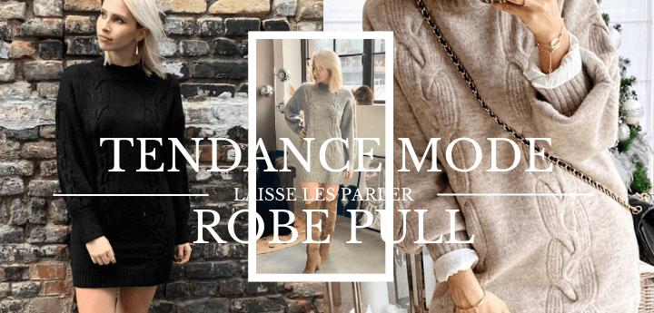La robe pull : un look casual idéal