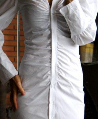 zoom chemise longue
