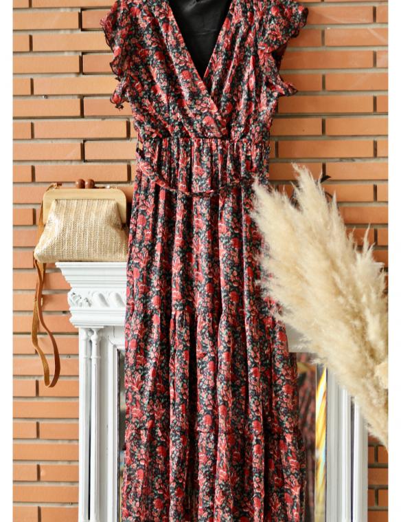 look robe imprime