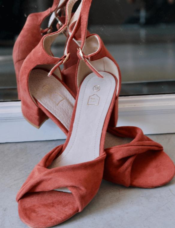 sandales a talons pas cher