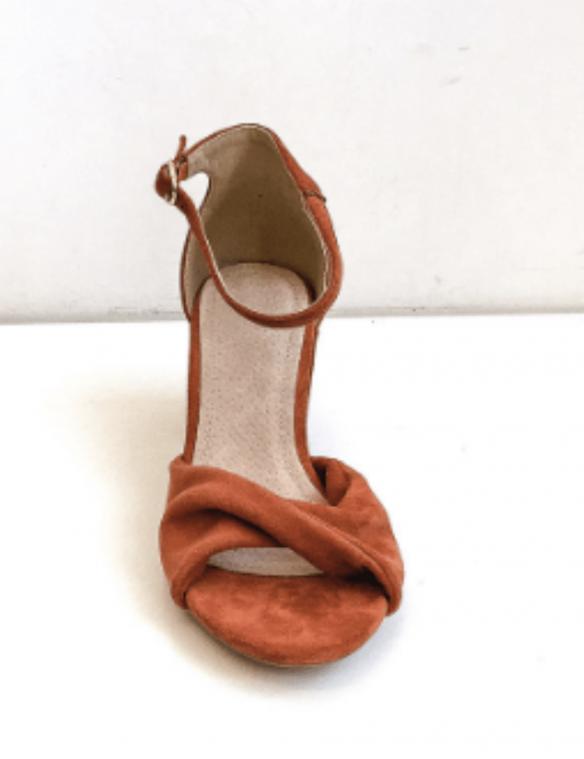 sandales terracotta