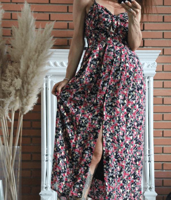 robe longue accueil