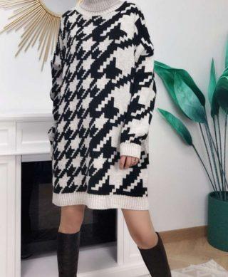 robe pull imprimee