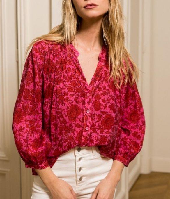 chemise fuchsia